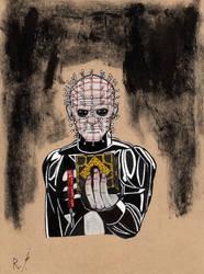 Inktober #9: Pinhead. by RyanShifflett