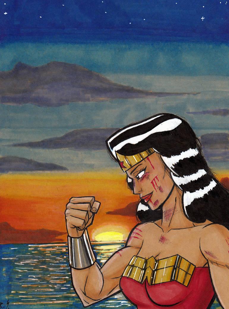 Wonder Woman: Victory. by RyanShifflett