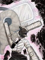 Chainsaw Man. by RyanShifflett