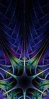 Blue Spires by jadenkanan