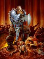 Dwarf Horde by Caveatscoti