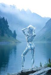 Water Elemental by Caveatscoti