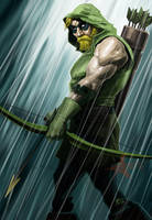 Green Arrow by Caveatscoti