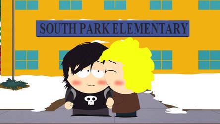 Annie's kiss after school by AlexWorld6038