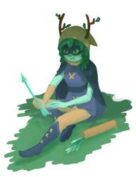 huntress wizard by KeariLeonheart