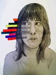Conceptual Self Portrait by KeariLeonheart