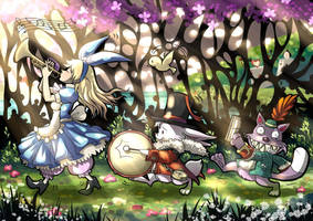 Alice in Wonderland ver2 by Kazeo-YuuRin