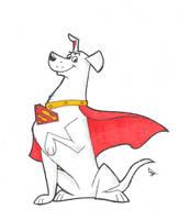 Krypto the Superdog by JohnnyZim777