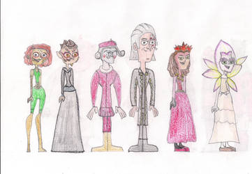 Total Drama Face Off 12 by MatthieuLacrosse