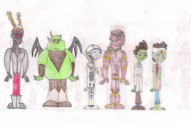 Total Drama Face Off 13 by MatthieuLacrosse