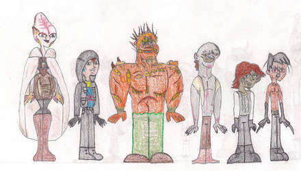 Total Drama Face Off 8 by MatthieuLacrosse