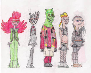 Total Drama Face Off 14 by MatthieuLacrosse