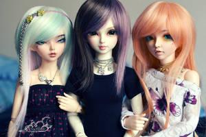 Kimochi Ladies by tinaheart