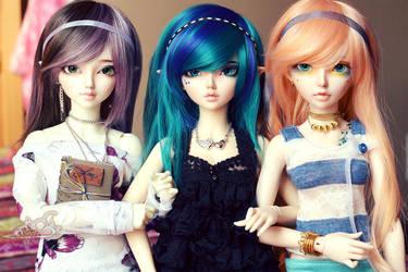 Kimochi Girls by tinaheart