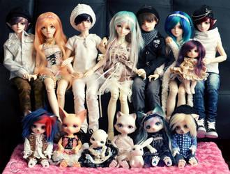 Kimochi Crew by tinaheart