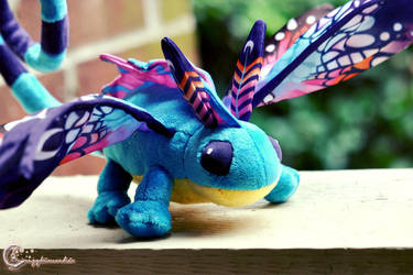 Sprite Darter Hatchling by tinaheart