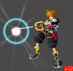 SORA KEYBLADE by Witchking00