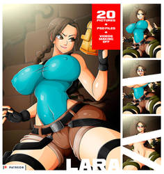 LARA PACK AVAILABLE NOW!! by Witchking00