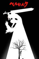 Berserk Origin Poster:  Guts by 1CyberNinja1