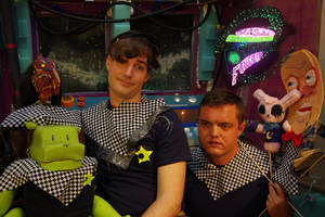 Crew of the Cosmicartoon Funship by ChanterelleandMay