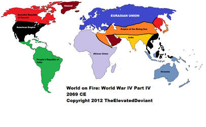 World on Fire: 2069 by TheElevatedDeviant
