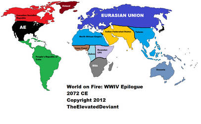 World on Fire: World War IV Epilogue (2072) by TheElevatedDeviant