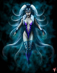 MK Legacy Queen Sindel by Esau13