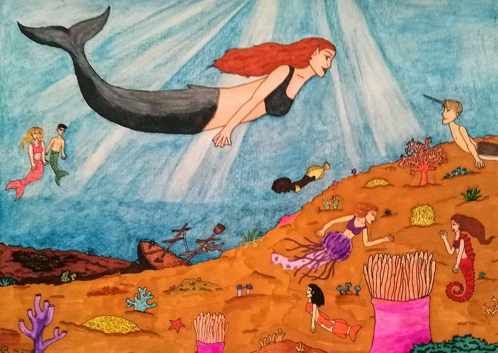 An Ocean full of Life  by RainbowColourfairy03