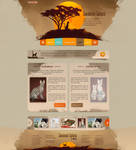 Web design - Savannah Sahara by Tngabor