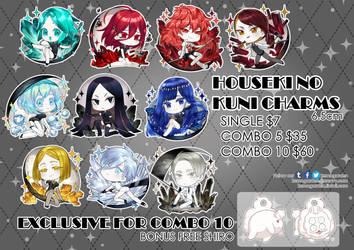 [Houseki no Kuni] HnK Acrylic charms by UltraCat7724