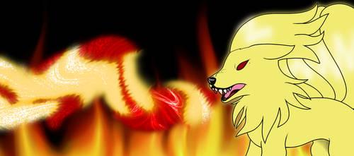 .::AT::. Ninetales by Darkflow215