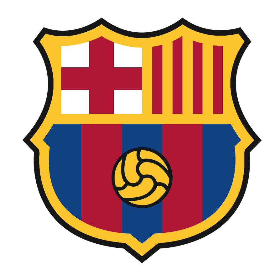 FC Barcelona new crest Png by sinastf on DeviantArt