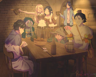 Tavern and friends | CM by PyonSangSang