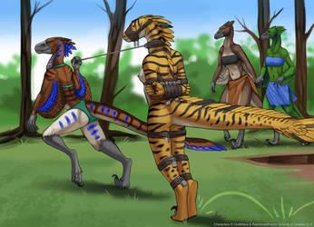 Snapjaw's Tribal Initiation - Page 5/6 by RestrainedRaptor