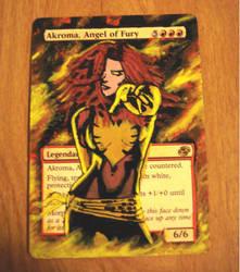 Dark Phoenix Akroma by Somnovore