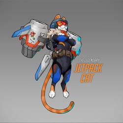 Jetpack Cat Concept | Overwatch by Neexz