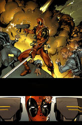 Deadpool 02. Page01. by MarteGracia