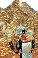 Deadpool 16 -reprint- Cover by MarteGracia