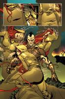 Dark Wolverine.The Three Fates by MarteGracia