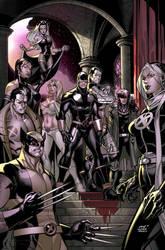 X Men: Vampires by MarteGracia
