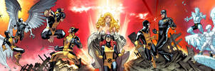 XMEN First To Last. COVERS. by MarteGracia
