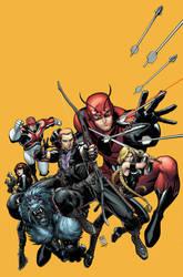 Secret Avengers Cover by Arthur Adams. by MarteGracia