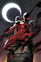 Scarlet Spider. Mark Bagley variant. by MarteGracia