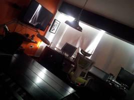 My studio! by MarteGracia
