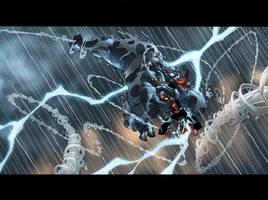 Venom+Spidey+Thunderbolt by MarteGracia