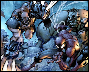 Mad. spiderhulwolvie by MarteGracia