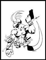 Hellboy by MarteGracia