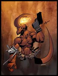 Hellboy Colour. by MarteGracia