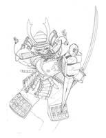 Naruto Samurai Inks by MarteGracia