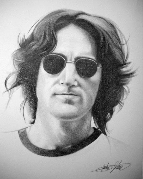 John Lennon by Ajda0123